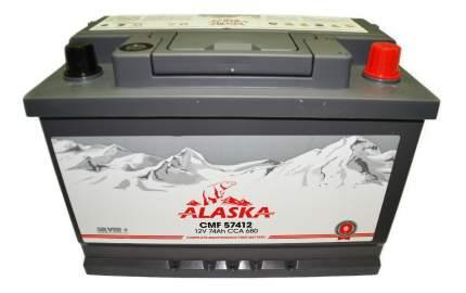 Аккумулятор автомобильный автомобильный ALASKA 8808240010573 74 Ач