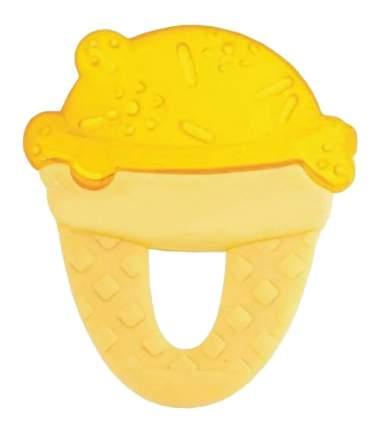 Прорезыватель детский охлаждающий Chicco Fresh Relax Мороженное (с 4 мес) желтый