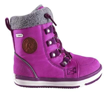Ботинки Reima зимние для девочки Reimatec Freddo Toddler pink р.26