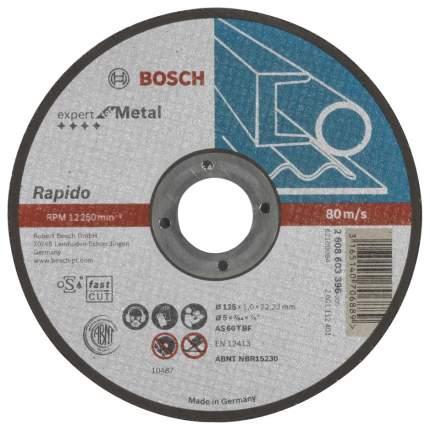 Диск отрезной абразивный Bosch по металлу 125х1мм , прямой 2608603396
