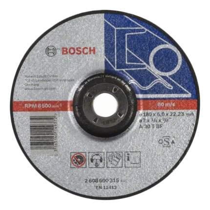 Диск абразивный шлифовальный Bosch 2608600315
