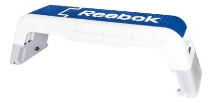 Степ-платформа Reebok Deck RAEL-40170BL 2 уровня бело-синяя