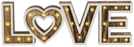 Светильник новогодний Globo Love 29976