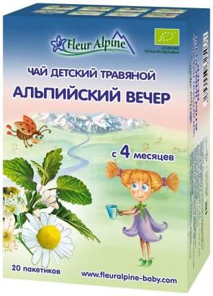 Чай Fleur Альпийский вечер с 4 мес 30 г
