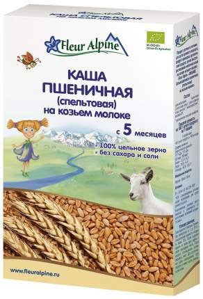 Молочная каша Fleur Alpine Пшеничная (спельтовая) на козьем молоке с 5 мес 200 г