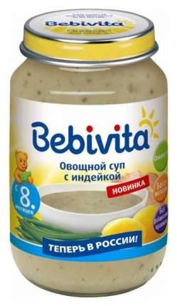 Суп Bebivita Овощной с индейкой с 8 мес. 190 г