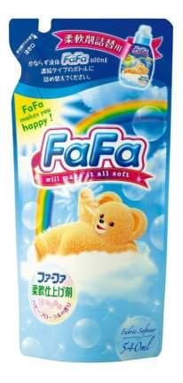 Кондиционер для детского белья «FaFa» с цветочным ароматом, запасной блок, 540 мл