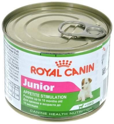 Консервы для щенков ROYAL CANIN Junior, курица, 12шт, 195г