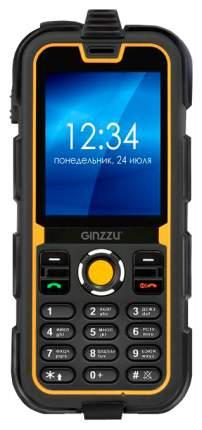 Мобильный телефон Ginzzu R62 Оранжвый, черный