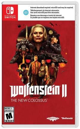 Игра Wolfenstein II - The New Colossus для Nintendo Switch