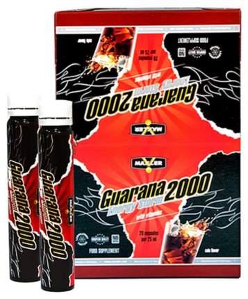 Энергетик Maxler Guarana 2000 Energy Storm, 25 мл, cola