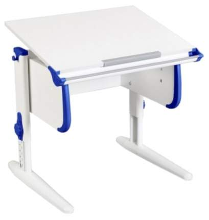 Парта Дэми White Стандарт СУТ-24 Белый/Синий