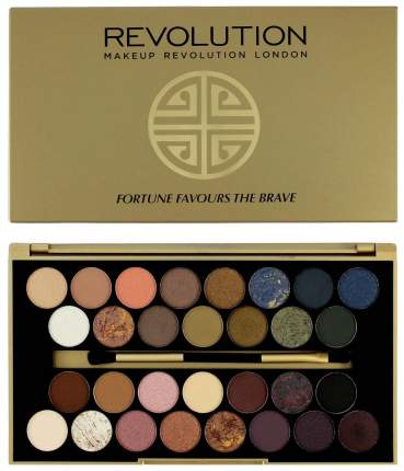 Тени для век Makeup Revolution 30 Eyeshadow Palette Fortune Favours The Brave