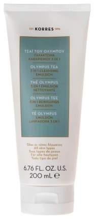 Эмульсия для лица Korres Olympus Tea 3 in1 Cleansing Emulsion 200 мл