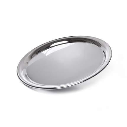 Поднос металлический круглый 35 см  Fissman 9423