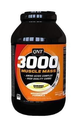 Гейнер QNT 3000 Muscle Mass 4500 г Banana