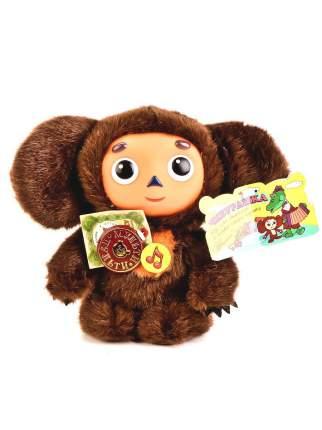 Мягкая игрушка Мульти-Пульти Чебурашка 25 см с пластиковой мордочкой