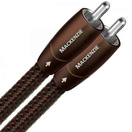 Кабель AudioQuest Mackenzie 2RCA - 2RCA, 0,5м Brown