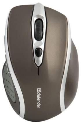 Беспроводная мышь Defender Safari MM-675 Brown/Silver (52678)