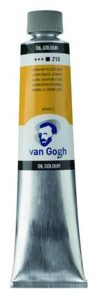 Масляная краска Royal Talens Van Gogh №210 кадмий желтый насыщенный 200 мл