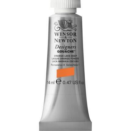 Гуашь Winsor&Newton Designers Gouache насыщенно-оранжевый 14 мл