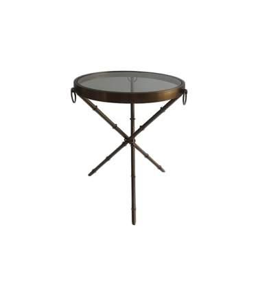 Кофейный столик ROOMERS 60х52х52 см, коричневый