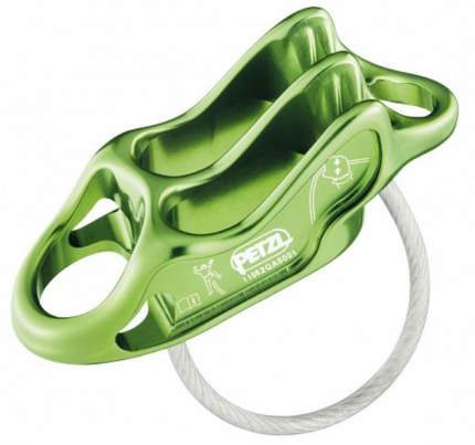 Спусковое устройство Petzl Reverso 4 зеленое