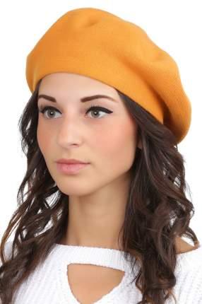 Берет женский FABRETTI S2017-1 оранжевый ONE SIZE