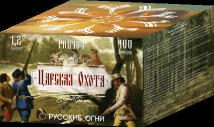 Супер-салют Русские Огни PRO101-2 Царская охота 100 залпов