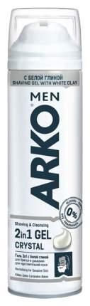 Гель для бритья ARKO MEN CRYSTAL 200 мл