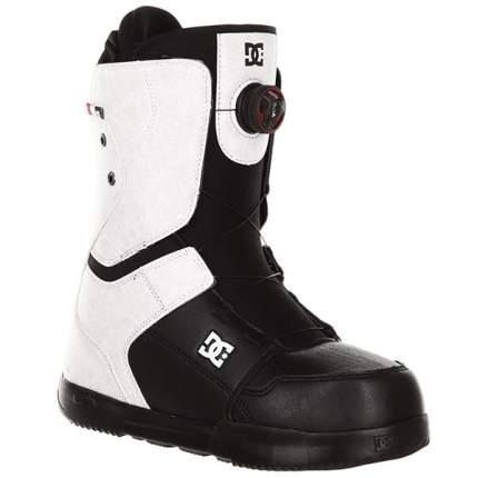 Ботинки для сноуборда DC Scout 2019, черные/белые, 26.5