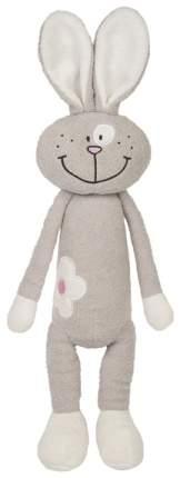 Мягкая игрушка животное MaxiToys Зайка с цветочком