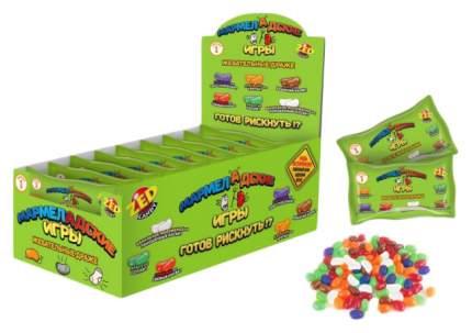 """Настольная игра """"Мармеладские игры"""", в пакете, 1 серия, 50 гр. Zed Candy"""