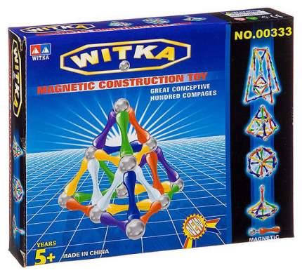 """Магнитный конструктор """"WITKA"""", 64 детали"""