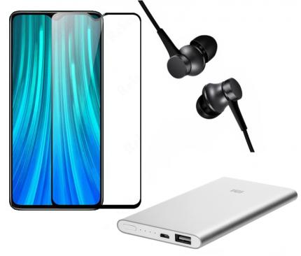 Смартфон Redmi Note 8T 4/64Gb Grey+Mi In-Ear Basic+Mi Power Bank 5000+защитное стекло
