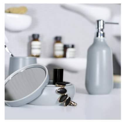 Ерш для унитаза Spirella Sense, керамика, цвет светло-серый, матовый