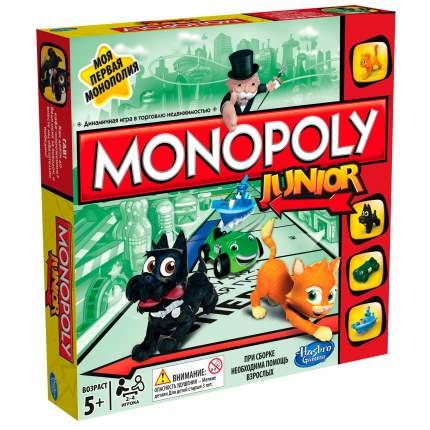 """GAMES Игра настольная. Монополия Джуниор """"Моя первая монополия"""",8+"""