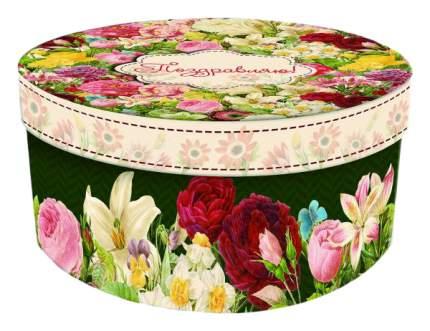 """Коробка подарочная """"Райский сад"""", 14х14х7 см"""