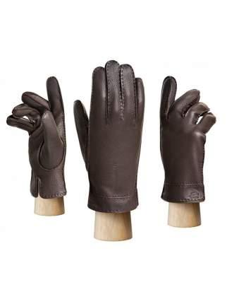 Перчатки мужские Eleganzza HS630M коричневые 8