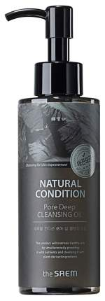 Масло для лица The Saem Natural Condition Pore Deep Cleansing Oil 180 мл