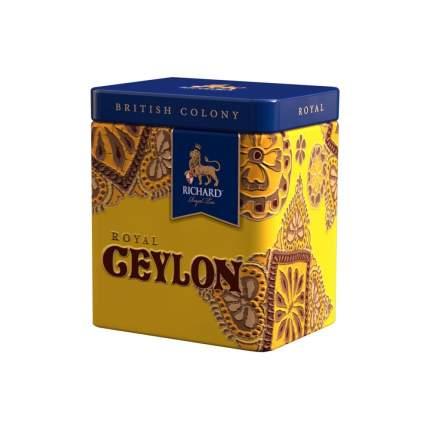 Чай Richard Ceylon Royal British Colony черный листовой 50 г
