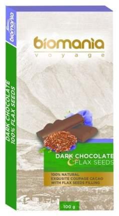 Темный шоколад Биопродукты с урбечом из семян льна 100 г