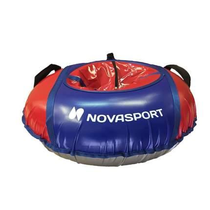 Санки надувные 80 см тент без камеры NovaSport синий