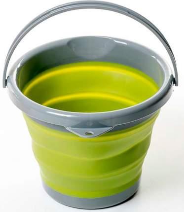 Ведро Tramp TRC-092 складное силиконовое 5 л, оливковый