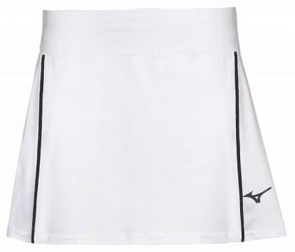 Спортивная юбка Mizuno Hex Rect Skort, белая, M