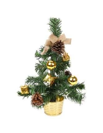 Ель искусственная Новогодняя сказка С украшениями 30 см