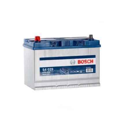Аккумуляторная Батарея S4 Silver  Asia [12v 95ah 830a B01] Bosch