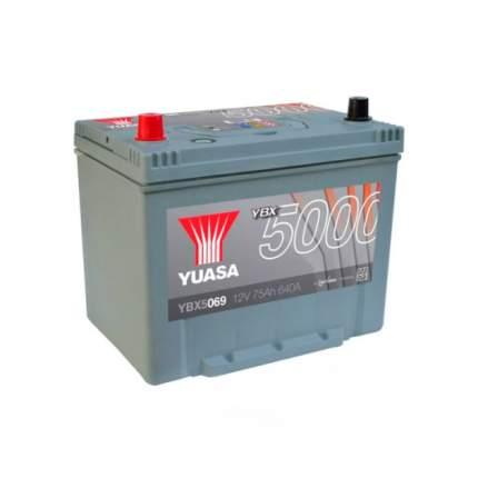 Аккумуляторная Батарея Silver High Performance[12v 75ah 640a B9] YUASA YBX5069-075