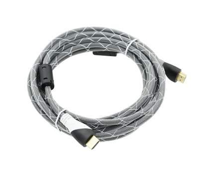 Кабель Behpex HDMI - HDMI, 5м White/Black