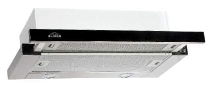 Вытяжка встраиваемая Elikor Интегра 60Н-400-В2Д Silver/Black